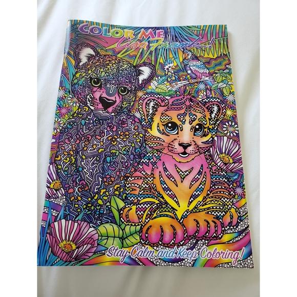 Lisa Frank Other Lisa Frank Color Me Adult Coloring Book Poshmark